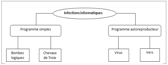 Classification des infections informatiques