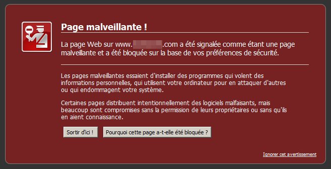 blacklist firewall malware website